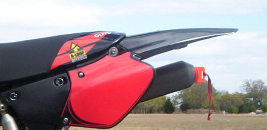Rear Fenders XR250 & XR400