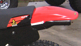 Aloop XR600/XR650L Rear Fender
