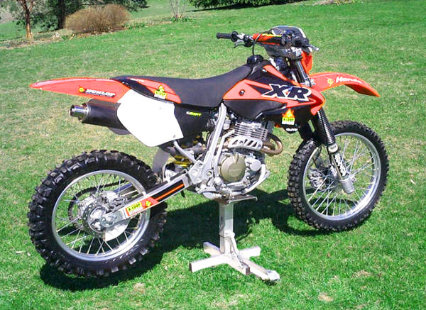 Aloop 4SMX Seat/Tank Kit for XR250 and XR400
